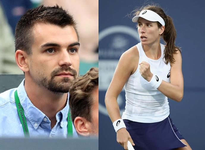 "**Jaskon Wade, boyfriend of Johanna Konta** <br><br> British women's star Johanna Konta keeps a level head on the court thanks to the support of boyfriend Jackson Wade, who she met while he was working as a video and photography manager for the Lawn Tennis Association in 2017. Of her partner, Konta has said: ""My boyfriend empowers me. He encourages me to trust my own decisions and be who I am because he says I'm awesome, so therefore I should believe it too."""