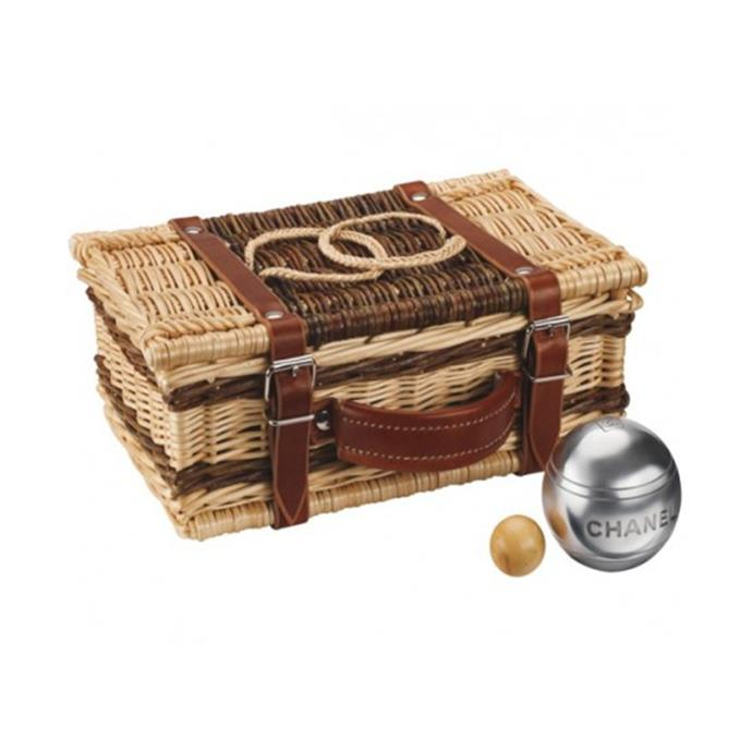 Chanel bocce set, retailed for ~$4,022 USD.