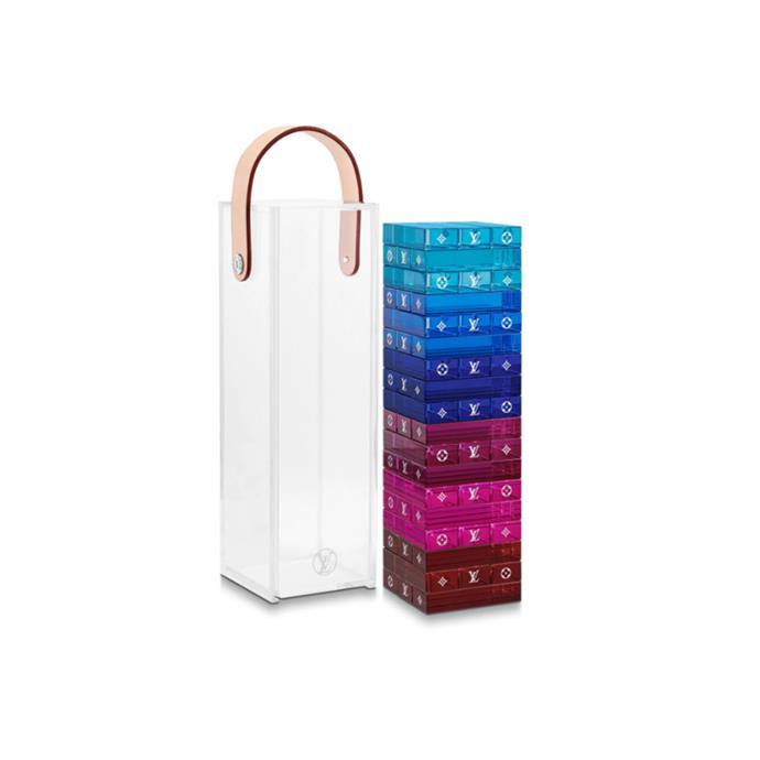 Louis Vuitton jenga set, retails for ~$4,380 AUD.