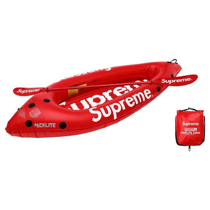 Supreme x Advanced Elements Packlite Kayak, retailed for $498 AUD.