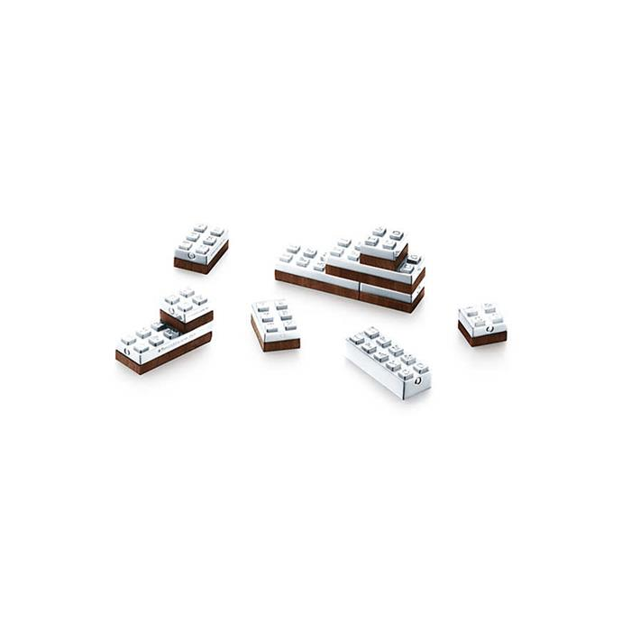 Tiffany & Co. sterling silver building blocks, retails for $1,650.
