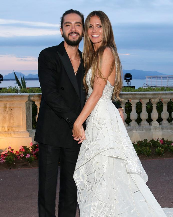 "**Heidi Klum and Tom Kaulitz**<br><br> Surprise! After announcing their engagement in December 2018, *[TMZ](https://www.tmz.com/2019/07/11/heidi-klum-secret-marriage-married-tom-kaulitz/|target=""_blank""