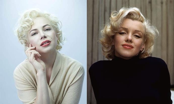 **Michelle Williams as Marilyn Monroe in *My Week With Marilyn* (2011)**