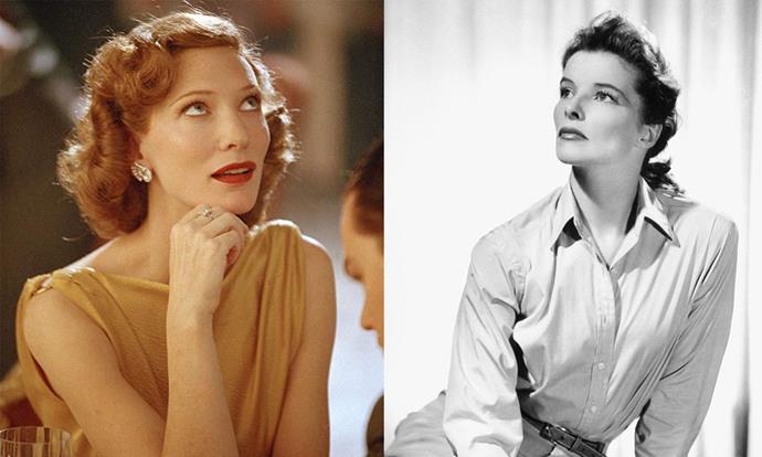 **Cate Blanchett as Katharine Hepburn in *The Aviator* (2005)**