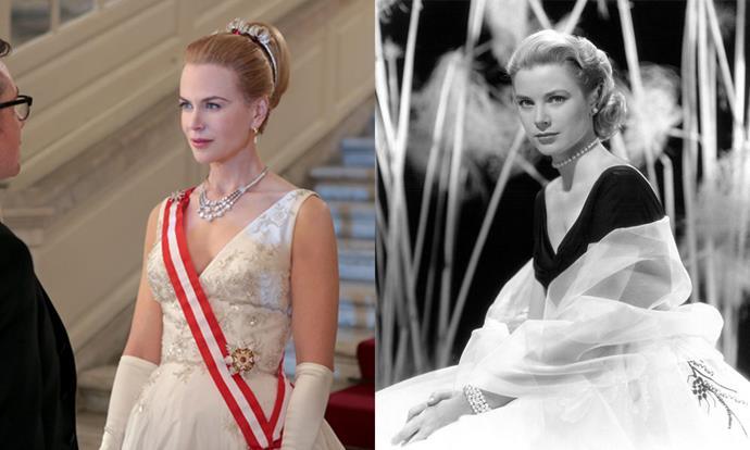 **Nicole Kidman as Grace Kelly (later Princess Grace of Monaco) in *Grace of Monaco* (2014)**