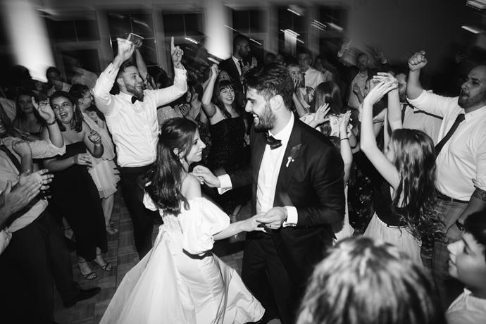 **On the first dance song:** We chose 'Let's Stay Together' by Al Green.