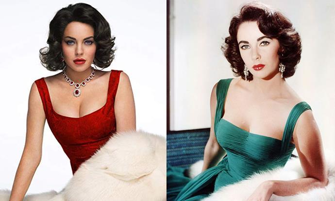 **Lindsay Lohan as Elizabeth Taylor in *Liz & Dick* (2011)**