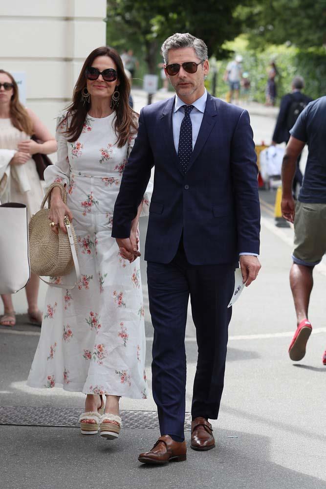 Eric Bana and Rebecca Gleeson.