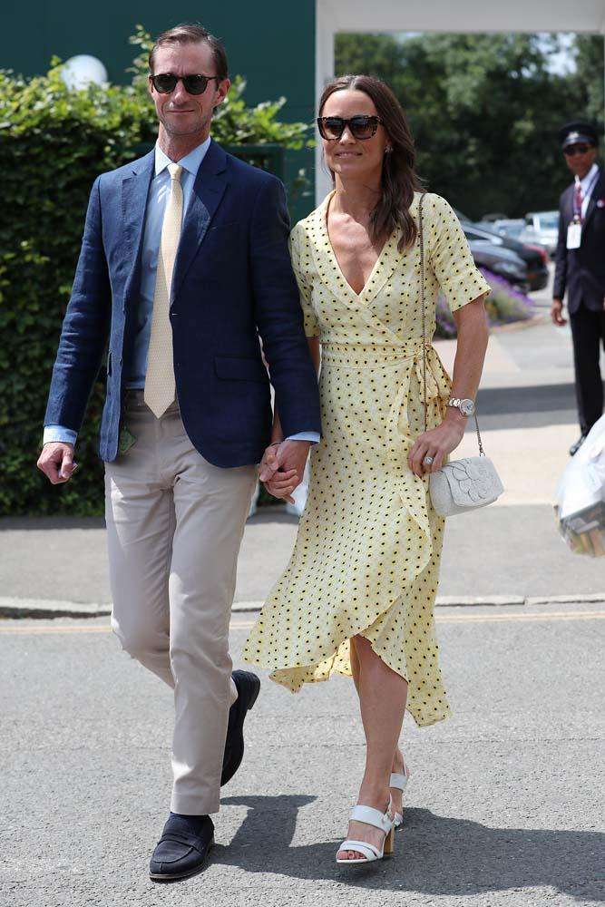 James Matthews and Pippa Middleton.
