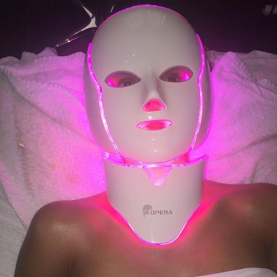 """***LED Light Therapy Mask By Opera, currently not available in Australia***<br><br>  Loved by Jessica Alba, this high-tech mask utilises low-level LED light therapy along with three wavelengths of therapeutic lights and galvanic micro-currents to combat the signs of ageing, nourish the deeper skin cells and speed up the skin's healing process.<br><br>   *Image via [@jessicaalba](https://www.instagram.com/p/7JjHm6sugi/?utm_source=ig_embed