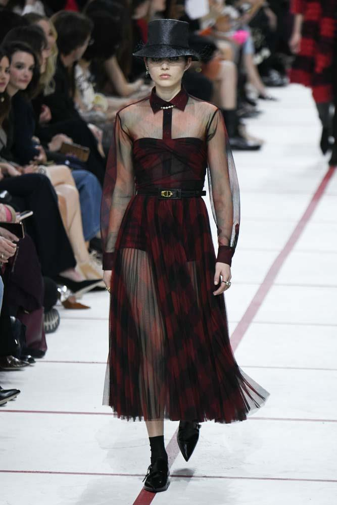 """What do you mean this violates dress code? It's a *midi dress*!""<br><br> *Christian Dior autumn/winter 2019/2020.*"