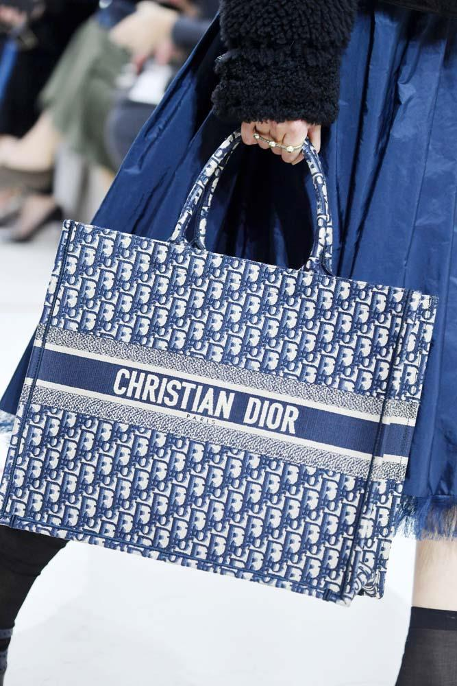 """Honestly, if you don't have a custom monogrammed Dior tote, I don't even want to know you.""<br><br> *Christian Dior autumn/winter 2019/2020.*"
