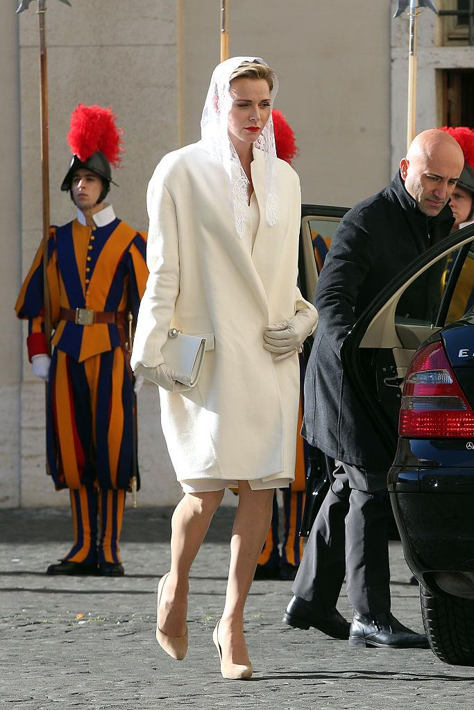 <strong>Charlene, Princess of Monaco</strong> <br><br> Princess Charlene was an Olympic swimmer before her marriage to Albert II, Prince of Monaco. She has two children, Princess Gabriella and Prince Jacques.