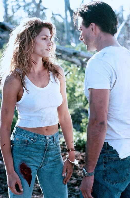 **Cindy Crawford in *Fair Game* (1995)** <br><br> '90s It-girl Crawford only acted in a handful of films, and played a lead in the 1995 action film *Fair Game*, opposite William Baldwin. The film received less-than-positive reviews, and from then on, Crawford stuck to modelling, before shifting gears to become a successful entrepreneur. <br><br> *Image: IMDb*