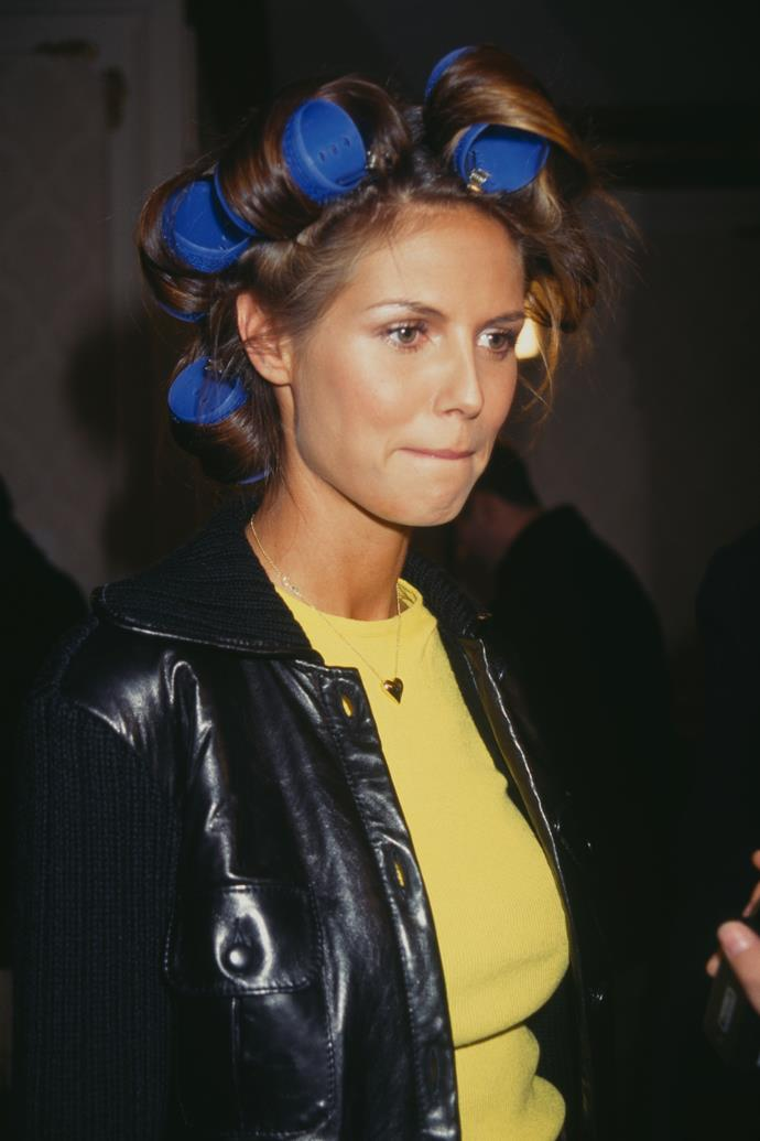 Heidi Klum in 1997.