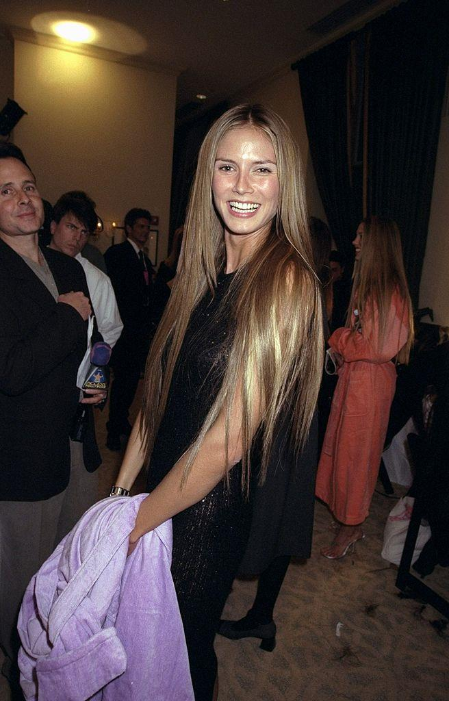 Heidi Klum at Victoria's Secret in 1999.