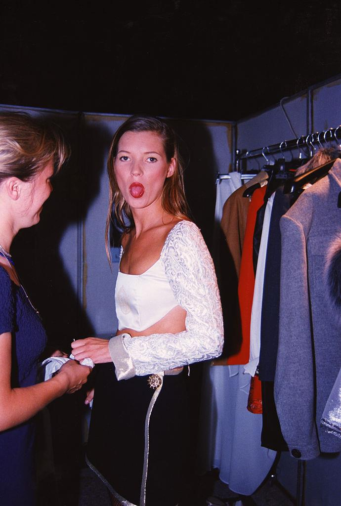 Kate Moss in 1990.