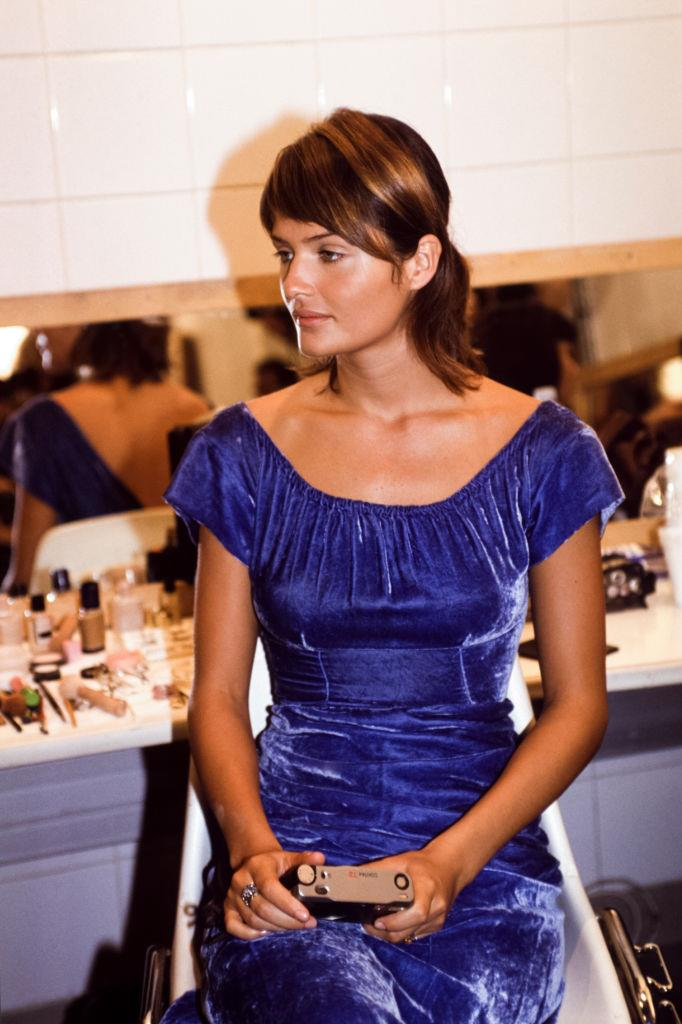 Helena Christensen at Valentino in 1994.