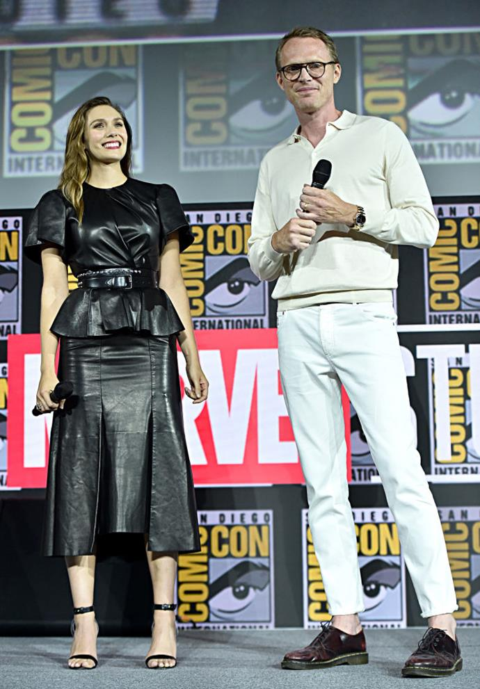 Elizabeth Olsen and Paul Bettany.