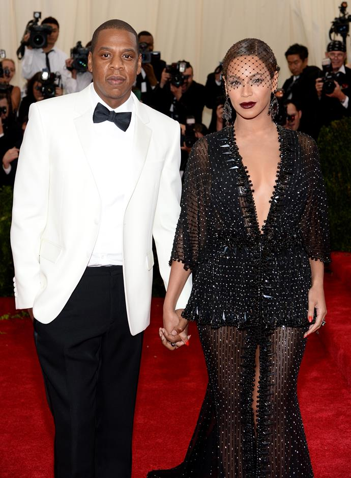 **Beyoncé and Jay-Z** <br><br>Bey and Jay have shared a very short video from their 2008 wedding, but apart from a shot of the dress, not much else is known.