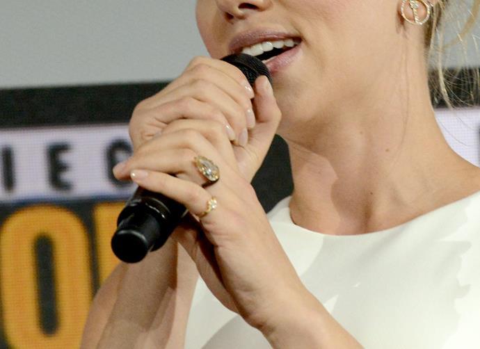 "[Scarlett Johansson](https://www.harpersbazaar.com.au/bazaar-bride/scarlett-johansson-engagement-ring-18997|target=""_blank"")"