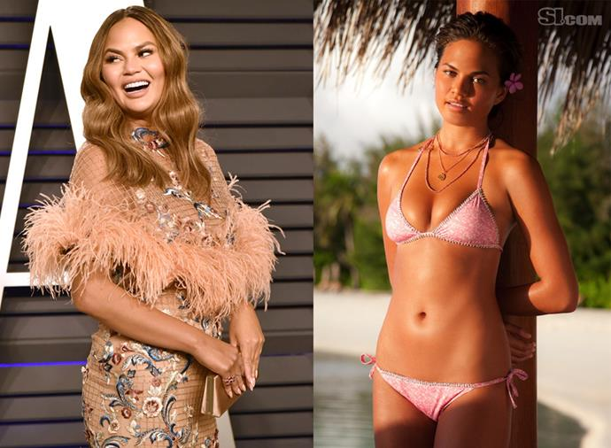 **Chrissy Teigen** <br><br> I'ts hard to imagine a world in which Chrissy Teigen's Twitter account wasn't taken as gospel, and we didn't have her and John Legend's love story at the front of our minds, but when she appeared in *SI*'s 2010 Swimsuit Edition, it was as a complete unknown. She went on to win Rookie of the Year for 2010 and star in four subsequent issues of the magazine, even landing a cover in 2014.