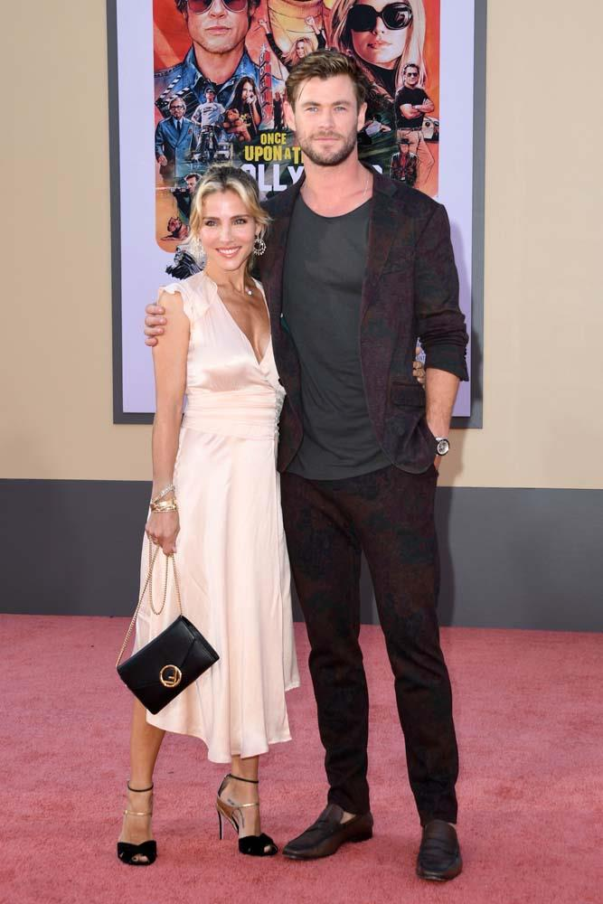 Elsa Pataky and Chris Hemsworth.