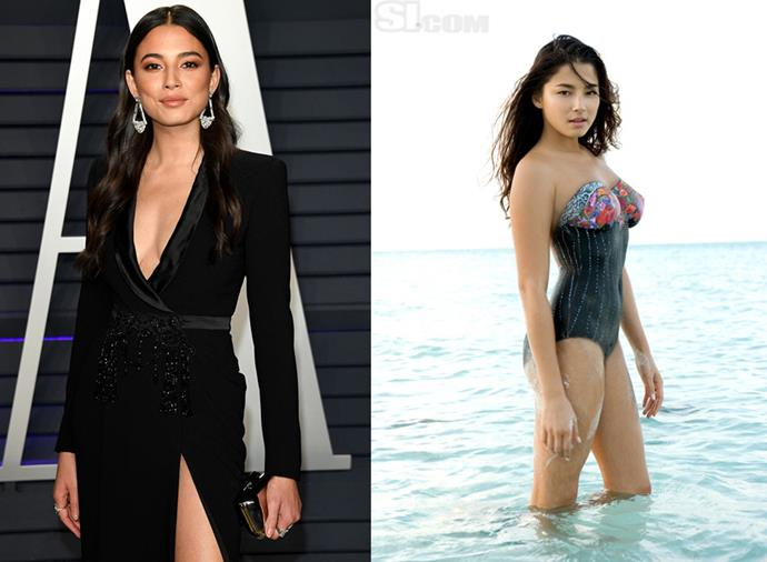 **Jessica Gomes** <br><br> The Australian model first posed for *SI* completely nude, covered in body paint, for their 2007 issue. She was such a successful addition to the magazine that she went on to appear in Swimsuit issues from 2008 to 2015.