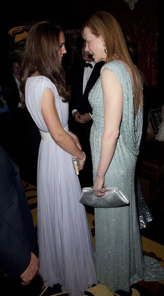 **Nicole Kidman meeting Kate Middleton in 2011**