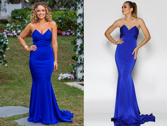 "Abbie in the 'JX1013' gown by Jadore Evening, $449 at [Fashionably Yours](https://www.fashionably-yours.com.au/school-formal-dresses/gigi-dress-jx1013-by-jadore-evening/|target=""_blank""