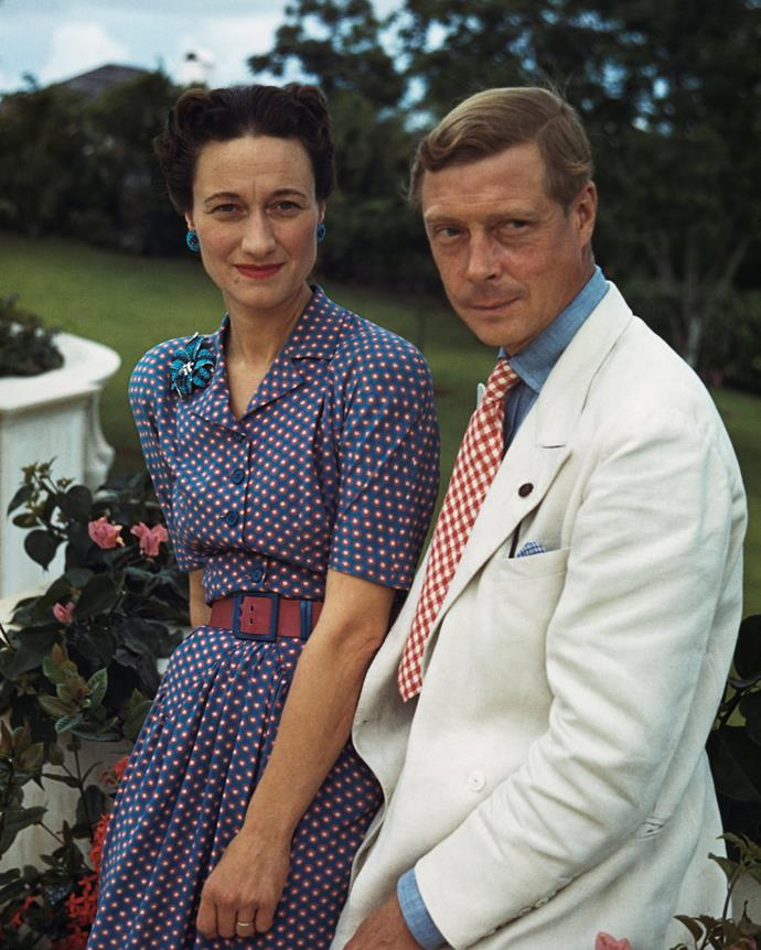 """***Wallis, Duchess of Windsor and Prince Edward, Duke of Windsor***<br><br> There's """"rebellious"""" then there's """"giving up your throne to marry your girlfriend"""" rebellious. Wallis Simpson and the then-King Edward VIII were the centre of tabloid attention for years when the king attempted to marry his American divorcee lover. When he was not allowed to marry her (and therefore make her queen), he abdicated his throne, married her and took the lesser title, 'Duke of Windsor.'<br><br> But forsaken thrones weren't the only controversy surrounding Wallis and Edward (known to friends and family as 'David'). They were also thought to be Nazi sympathisers and lived a infamously 'freewheeling' life in France together, where they threw parties and became embroiled in New York's 'café society'."""