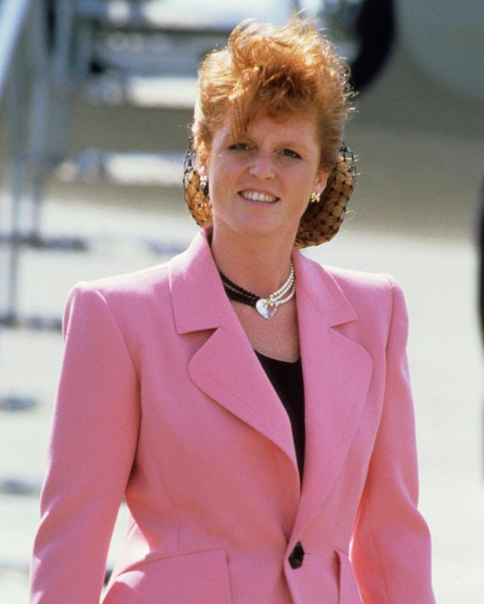 """***Sarah, Duchess of York***<br><br> Ever since Prince Andrew announced his engagement to bubbly redhead Sarah Ferguson—quite the contrast to primp and proper Lady Diana—the Duchess of York has courted controversy. When the couple divorced in 1996, Princess Margaret reportedly wrote a letter to her claiming she had """"done more to bring shame on the family than could ever have been imagined""""."""