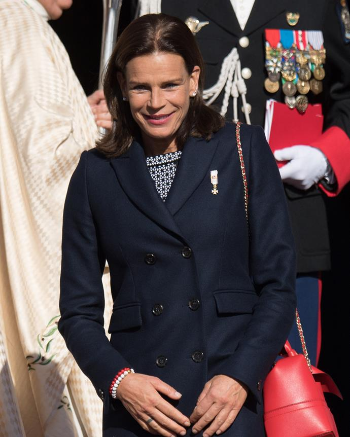 ***Princess Stéphanie of Monaco***<br><br> Next to her brief careers in fashion (as an apprentice at Christian Dior) and music (she has released two album to 'disappointing' reviews), Princess Stéphanie courted international attention when she had a baby girl named Camille out of wedlock and refused to tell anyone who her father was. Shortly after, the Princess began a relationship with 'married elephant trainer Franco Knie,' during which she moved into his 'circus caravan' with her three children. After that, she married acrobat Adans Lopez Peres, a member of her ex-boyfriend's circus. They were married for 10 months.