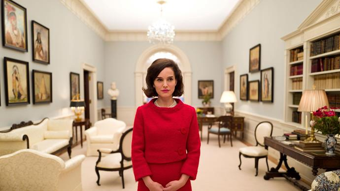 ***Jackie*** <br><br> Although a decidedly tragic film of Jackie Kennedy grieving her late husband after his assassination, this Oscar-nominated film also pays tribute to the U.S. First Lady's game-changing dress sense.