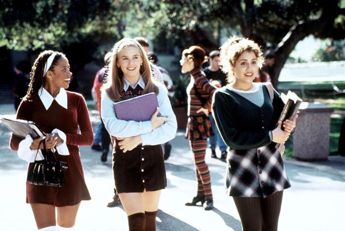 ***Clueless*** <br><br> The epitome of '90s dressing, popular girl Cher Horowitz and her posse are a treasure trove of outfit inspiration for current-day fashionistas. From her thigh-high socks to her plaid two-sets and that memorable red dress, Alicia Silverstone's costumes continue to dictate trends to this day.