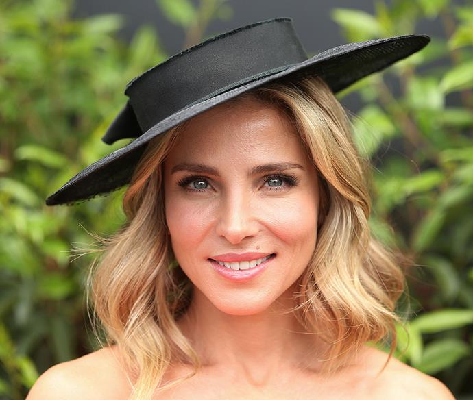 **Elsa Pataky at Melbourne Cup Day, 2016** <br><br> Pataky's fluttery lashes and romantic waves lent her look a polished, feminine finish.