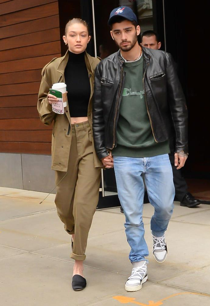 "**Gigi Hadid and Zayn Malik** <br><br> Hadid and singer Malik ended their relationship in early January 2019, after dating for over two years. The supermodel addressed the split in a statement posted to [Twitter](https://twitter.com/GiGiHadid|target=""_blank""