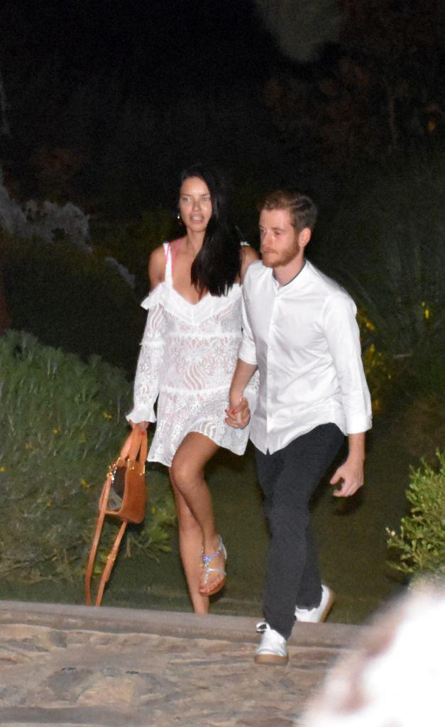 "**Adriana Lima and Metin Hara** <br><br> Lima's whirlwind romance with self-help writer Metin Hara lasted for a year and a half, and ended in January 2019, according to a report from *[People](https://people.com/style/adriana-lima-splits-boyfriend-metin-hara/|target=""_blank""