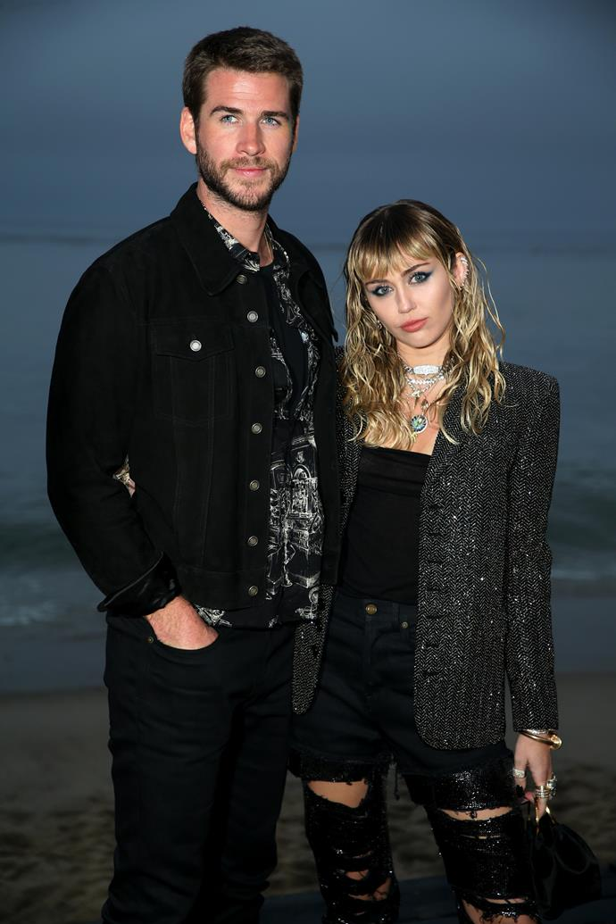 "**Miley Cyrus and Liam Hemsworth** <br><br> The married couple announced their split via a representative in a statement to *[PEOPLE](https://people.com/music/miley-cyrus-liam-hemsworth-split/|target=""_blank""