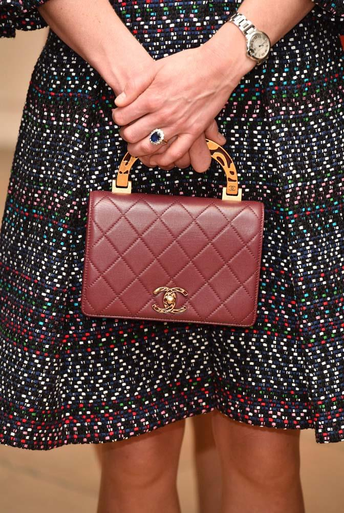 "***Top-Handle Bags***<br><br> Considering she lives by [the clutch rule](https://www.harpersbazaar.com.au/celebrity/kate-middleton-clutch-theory-5414|target=""_blank""), it's unsurprising that we can count the amount of top-handle bags we've seen Kate carry on one hand."