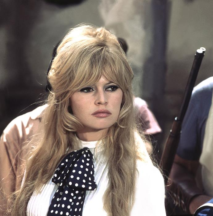 **1965: Brigitte Bardot's bangs and bouffant**<br><br>