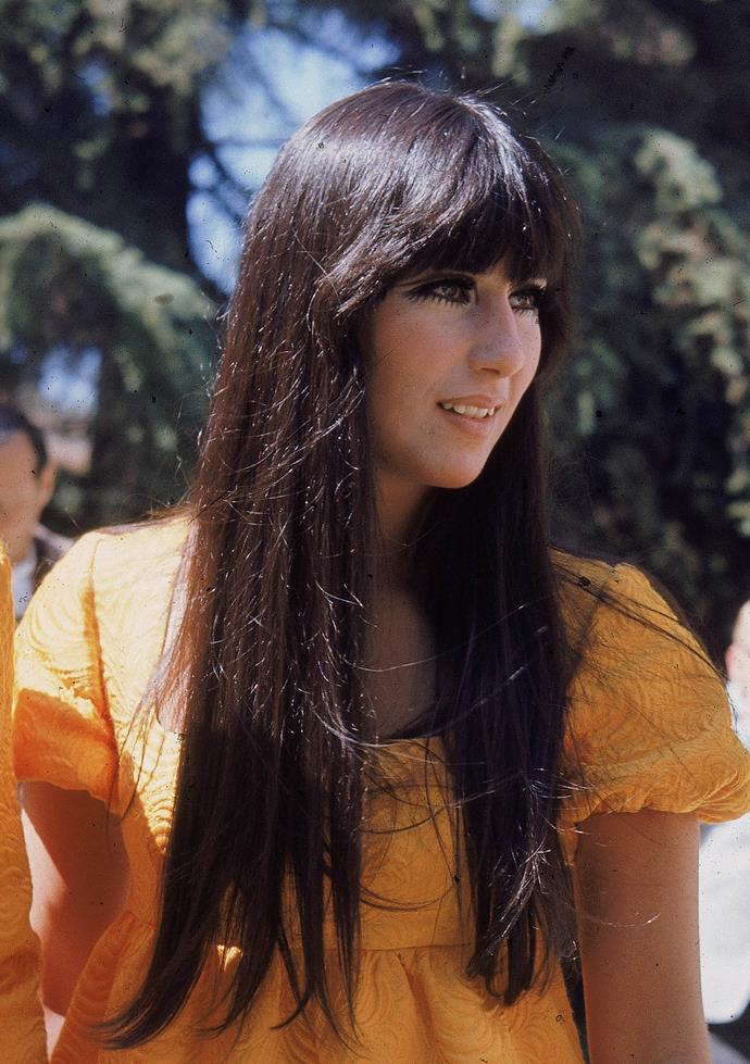 **1967: Cher's straight and sleek strands**<br><br>
