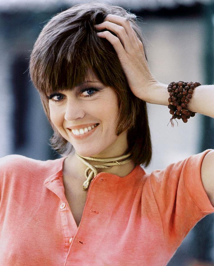 **1971: Jane Fonda's mullet-style shag**<br><br>