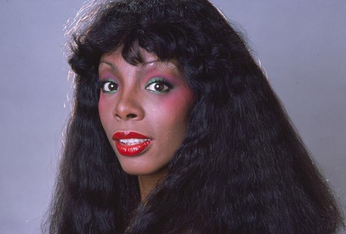 **1979: Donna Summers' curly fringe**<br><br>