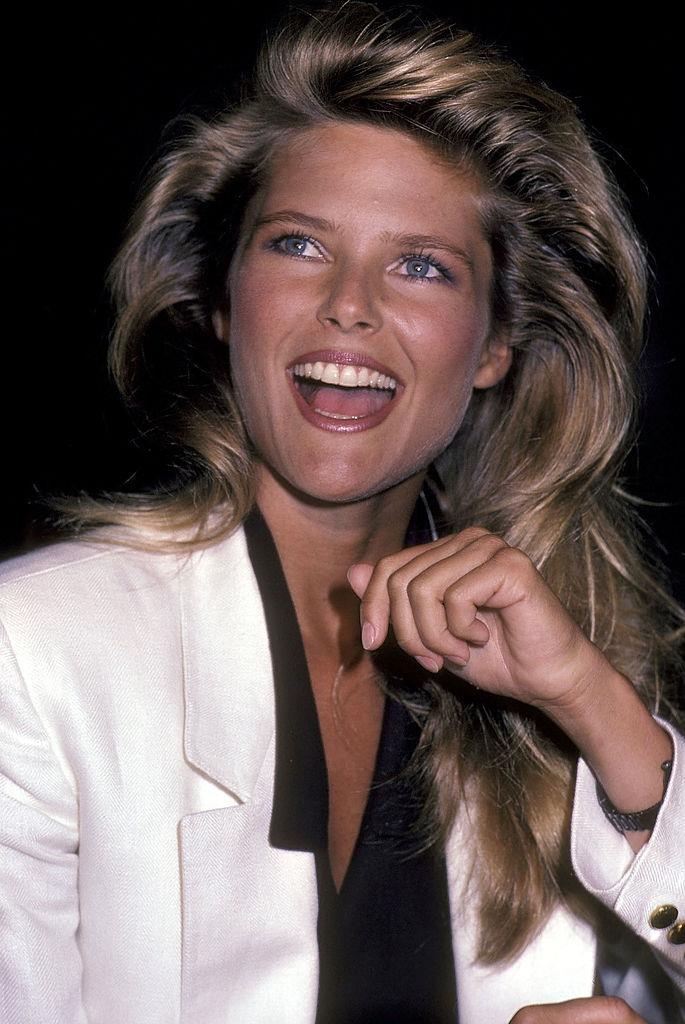**1983: Christie Brinkley's volumised roots**<br><br>