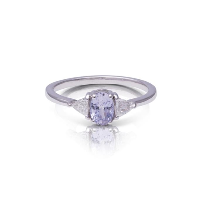 "Sapphite and diamond ring, $4,699 by [Baby Anything](https://babyanything.com.au/product/beloved-ring/|target=""_blank""