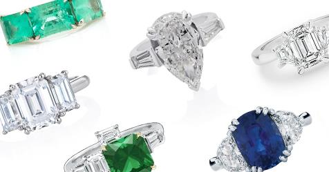 Three-Stone Engagement Rings: 20 To Fall In Love With | Harper's BAZAAR Australia