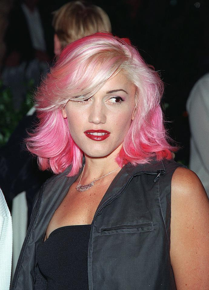 **1999: Gwen Stefani's hot pink hair**<br><br>