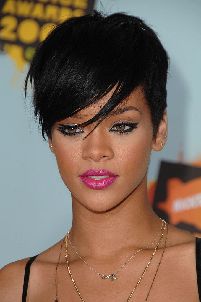 **2008: Rihanna's side-swept pixie cut**<br><br>