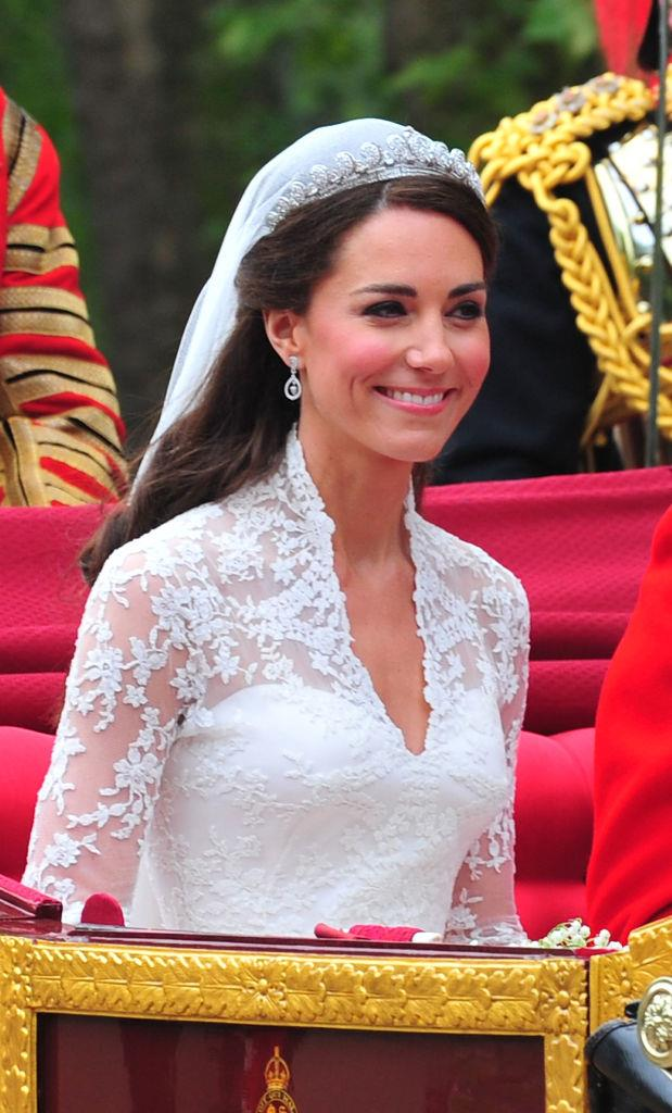 **2011: Kate Middleton's half-up-half-down wedding hair**<br><br>